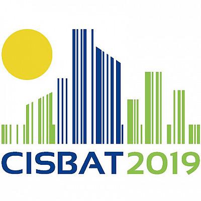 Participation de MAP-ARIA à la conférence CISBAT'2019 à l'EPFL