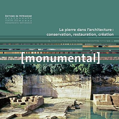 Contribution à la revue Monumental pour un numéro consacré à la pierre