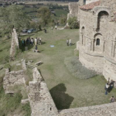 Relevé numérique à Saint-Romain-Le-Puy avec les étudiants de l'ENSAL
