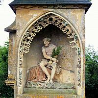 Modélisation en trois dimensions de la statue du Christ de pitié du cimetière de Saint-hilaire à Marville