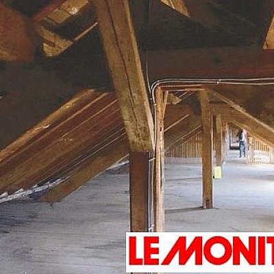Un article sur les données d'un chantier de déconstruction sélective dans les Vosges