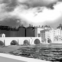 Le pont du Change, Lyon