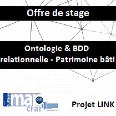 Offre de stage « Interfaçage d'une ontologie et d'une BDD relationnelle - Patrimoine bâti»
