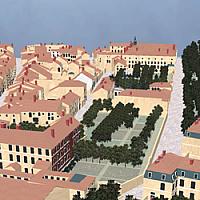 Plan-relief de la ville de Toul