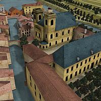 Plan-relief de la ville de Verdun